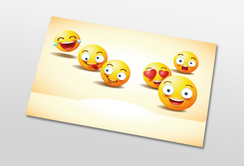 Nachbestelltasche - Smileys