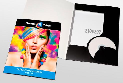 Präsentationsmappe mit CD
