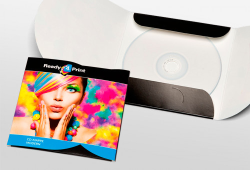 Eigenes Design - CD-Mappe Modern