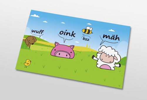 Nachbestelltasche - Tiersprache
