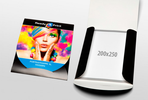 Eigenes Design - Portraitmappe XL - Modern
