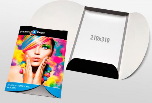 Eigenes Design - Portraitmappe XXL - Modern