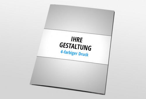 Eigenes Design - Präsentationsmappe mit CD und Visitenkarten-Steckplatz