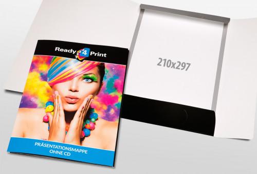 Eigenes Design - Präsentationsmappe ohne CD mit Visitenkarten-Steckplatz